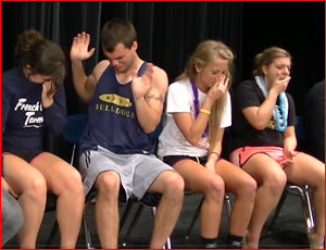 college hypnotist entertainer